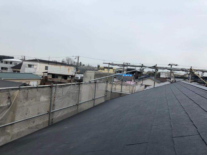 スレート屋根 貼替